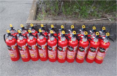 消防設備の販売
